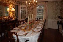 τραπεζαρία- dining room