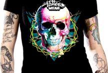 TattooWear Colors / Colors Tattoo Clothing