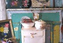 Color Your World / A little bit o' color goes a long, long way! Vintage finds and color will brighten up your day! Fill your world..one color at a time!!!