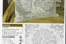Подушки / Вязание