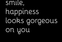 Smile...it looks good on you! ❤