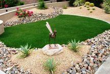 Garten Gestaltung und deko