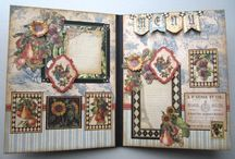 Scrap booking / I am inspired when I see Adriana bolzon's scrapbooking and it amazes me