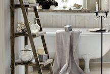 Decor I adore:  Bathrooms / by Andrea Cammarata