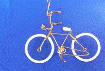 ιδέες με σύρμα / ποδήλατα  με σύρμα