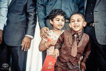 Kids during wedding