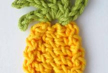Crochet Fruit & Food