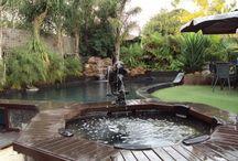 Backyard Reno  / Pool & Yard ideas