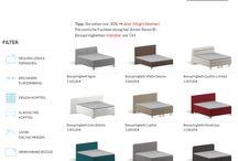 Kunden-Beispiel. Boxspringbetten-Konfigurator (Revor Bedding GmbH)