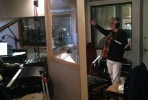 """Recording Session CD XIMO TEBAR 2016 """"SOLEO"""" The New Son Mediterráneo. Celebrating 25th / Great recording session with great jazz cats! Thanks Donald Edwards, Orrin Evans, and John Benitez for bringing to my new record your great talent and wisdom....., and also for your amazing diving in the Mediterranean flavor and the phrygian mode. Congratulations! Great job! Great sound! en New York City"""