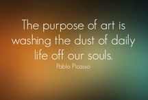 Art Quotes / In the minds of the masters. / by galleryIntell