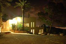 Terrasse Ibiza, Façade