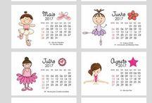 Infância - Calendário