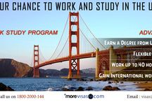 USA Work Study Program / The USA Work Study Program permits international students to work off-campus with the American companies while pursuing their masters degree at an authorized US university. The Work Study Program is a combination of study and work which is especially suitable for adult students.