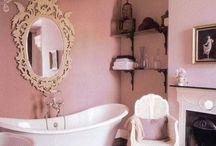 Banheiros glamourosos