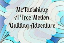 FMQ / Full motion quilting!!!