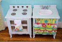 DIY Play Kitchen for Kids
