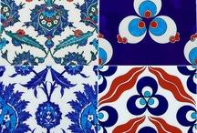 Ornament / Inspired by Turkish Iznik pottery designs / by Daniela Swider