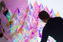 Iridescent triangles