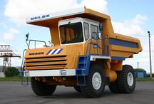 Dump truck BELAZ / Белорусский автомобильный завод — один из крупнейших в мире и единственный в СНГ производитель карьерной техники.