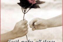 Faith Love Belive  / by Claudia Armendariz