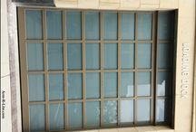 Loading Dock Garage Doors / Custom made contemporary loading dock doors for commercial applications.