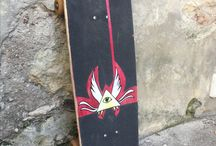 My hand Made board production / Skate surf old School DiY urban shaper skateboard classic