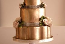 Rose Gold Cake Ideas and other Rose Gold Items