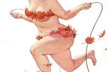 Hilda Calendar Girl / by Alice Imholte