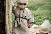 Medieval children costume