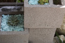 Cinder blocks  who knew ?! / All kinds of cement ideas :-)  / by Glenda Buckles