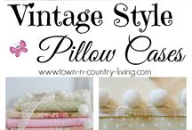 Sewing: Pillows