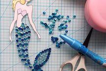 Ideas con Dolls de Julie Nutting / Las muñecas de Julie Nutting están de moda. Ha creado sus propios sellos de Prima Marketing así como colecciones propias como Nautical Bliss y Paper Dolls en Photo Play.