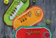 Crochet Hookcase