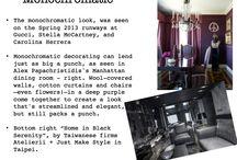 S/S 14 Interiors Trend: Monochromatic