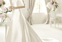 trouwen / kleding en bloemen