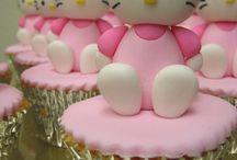 Cupcakes y Figuras de azúcar / Cupcakes y figuras de azúcar