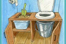 Toilettes sèche