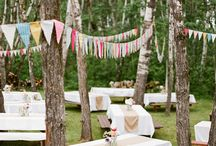Fabric Bunting: Outdoors