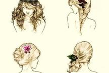 hair ideas / by Kate Springer
