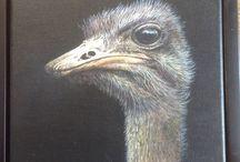 Fijnschilderen / Fijnschilderen dieren
