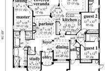 House plan ideas / by Sara Yzaguirre