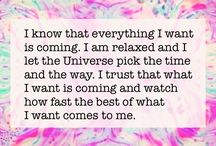 affirmations,manifesting,law of attraction