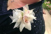 Corsage& Wristlet & Headwreath / Flowers to wear