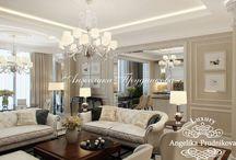 Дизайн-проект квартиры в английском стиле в Клубном доме на Чайковского / Дизайн спроектирован для квартиры в Клубном доме на Чайковского. Английский стиль делает жилое пространство дома не только красивым, но и удобным и уютным. Все комнаты помещения выполнены в едином стиле.  В интерьере много мягких, приятных цветов, которые создают особую аристократичную обстановку.