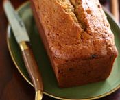 Raisin cinnamon apple loaf