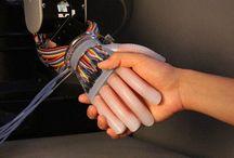 Robotic sensory / See, hear, sense and feel