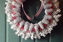 decorazioni con pigne