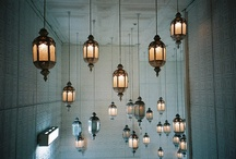 Above / ceilings and chandeliers