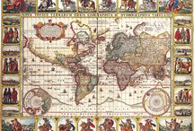 Antique Maps – Art of the Cartographer / Cartography is the study and practice of making maps, combining science and technique with art and design.  Highly decorative maps from the 16th century (e.g. John Speed and William Blaeu) to Thomas Moule in the 19th century were hand coloured.